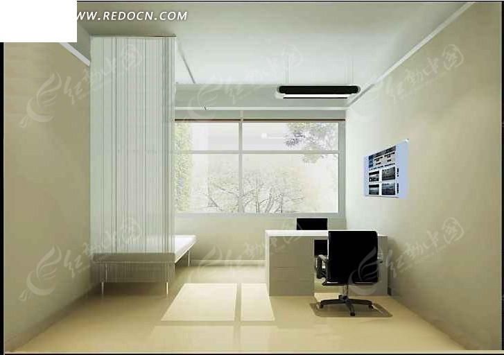 医院就诊办公室设计3D效果图