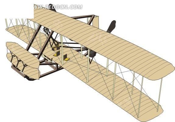 农用喷雾机 喷雾飞机 eps素材