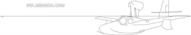 手绘线描飞机图案,编号是1605925,文件格式eps,您下载的是一个压缩包