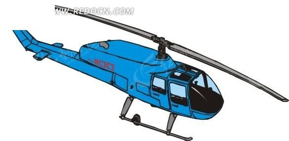飞机 直升飞机 交通工具