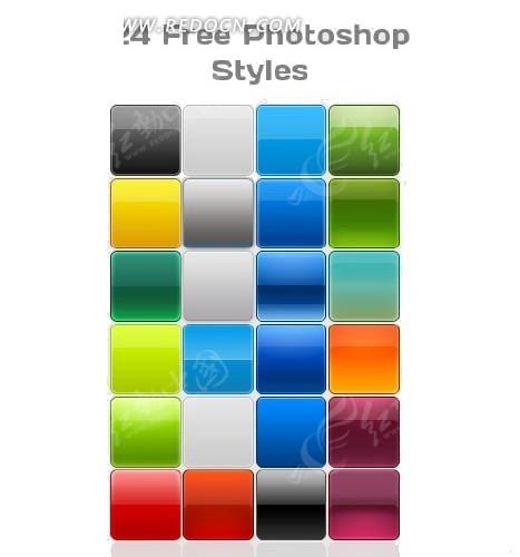 渐变 效果 PS 样式 asl photoshop素材免费下载 编号1600282 红动网