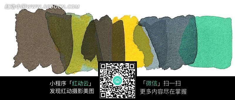 灰色绿色黄色叠加背景底纹图片