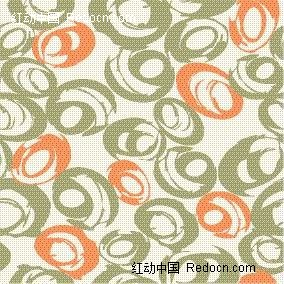背景素材 橙色 底纹 墨绿色 浅灰色背景 矢量素材 圆圈图