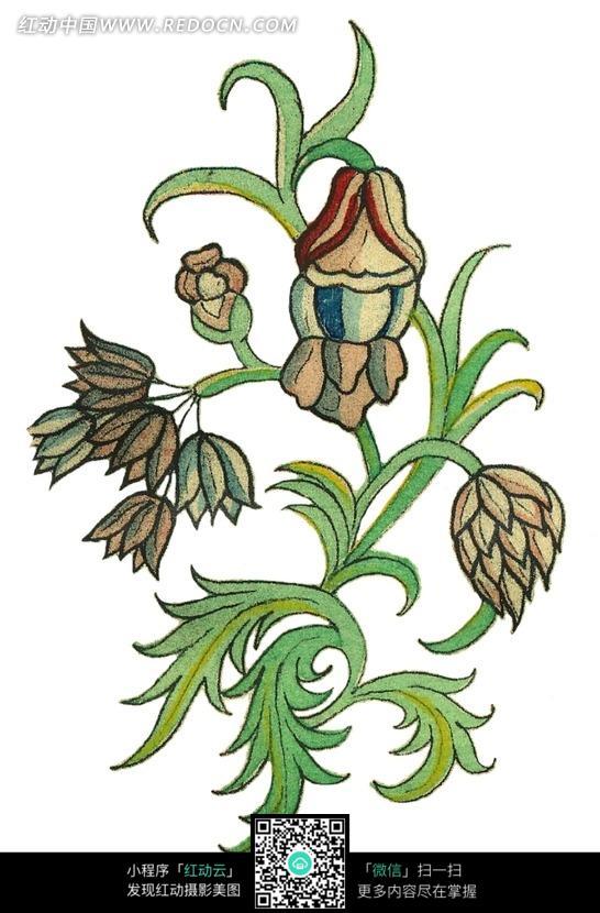 好看的手绘边框图片; 手绘漂亮的花藤图片(编号:1644719)_花纹花边