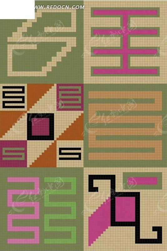 长方形花边边框手绘竖版