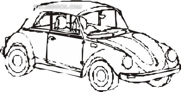 儿童赛车简笔画儿童画画大全简笔画方程式赛车简笔