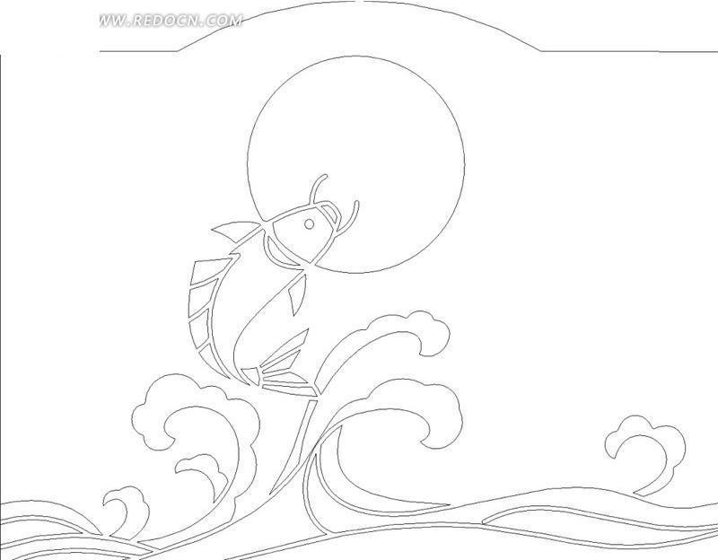 手绘怎么画水面