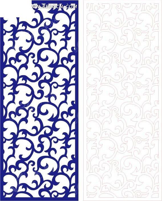 欧式 图案 镂空花纹 镂空雕花 花纹隔断 窗格 装饰花纹 时尚花纹 矢量