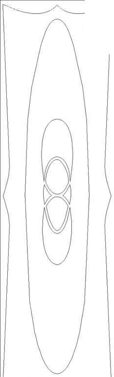 简单线条矢量花纹设计素材