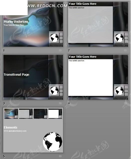 黑白色调背景ppt模版 现代简约欧式客厅 简洁黑白色调名片模板矢 画册图片