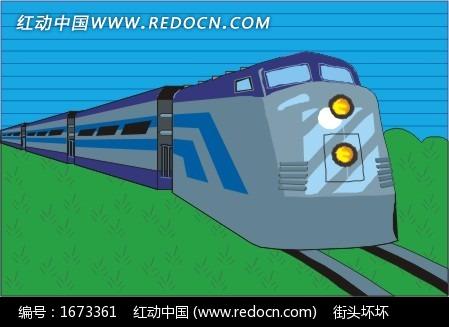 列车绘画步骤图