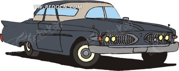小车 车 汽车 交通工具 卡通画 插画 手绘 矢量素材  科技图片