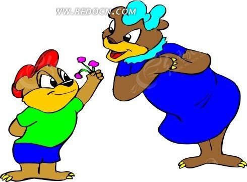 卡通画 插画 手绘 矢量素材 动物图片 卡通形象 免费下载 卡通人物