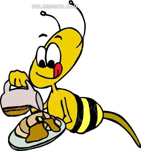 吃东西的图片广西天等进结印勇村那印蜜蜂蟒蛇图片