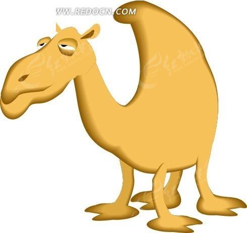 骆驼有几层眼睫�_手绘拉拢着眼睛的骆驼