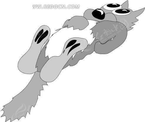 猫 小猫 猫咪 卡通画 插画 手绘 矢量素材 动物图片 卡通形象 动物