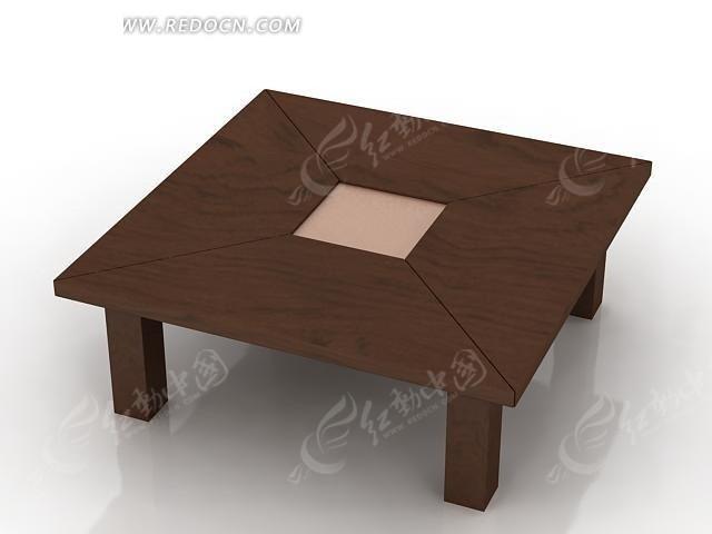 木质拼合方桌