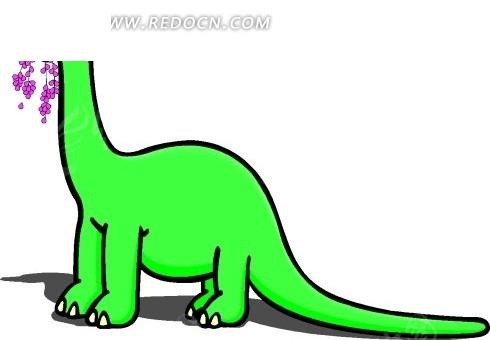 恐龙 卡通动物 卡通画 插画 手绘 矢量素材 动物图片 卡通形象 免费