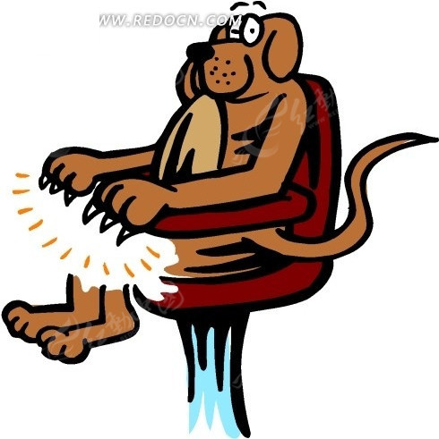 人坐在椅子上简笔画; 关于国庆节的卡通画;