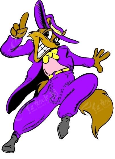 狐狸 卡通动物 卡通画 插画 手绘 矢量素材 动物图片 卡通形象 免费