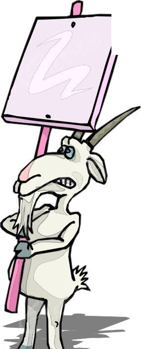 羊 山羊 卡通动物 卡通画 插画 手绘 矢量素材 动物图片 卡通形象