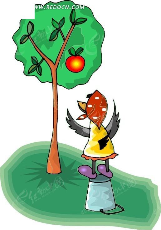 鸟 卡通动物 卡通画 插画 手绘 矢量素材 动物图片 卡通形象 免费下载