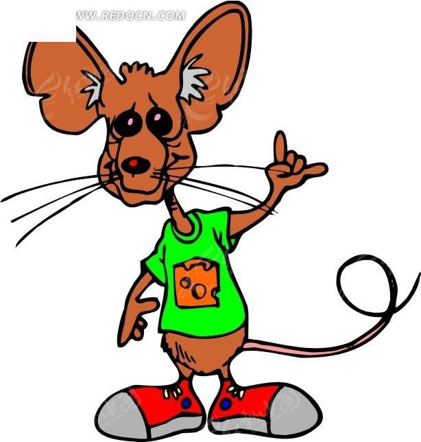 老鼠 卡通动物 卡通画 插画 手绘 矢量素材 动物图片 卡通形象 免费