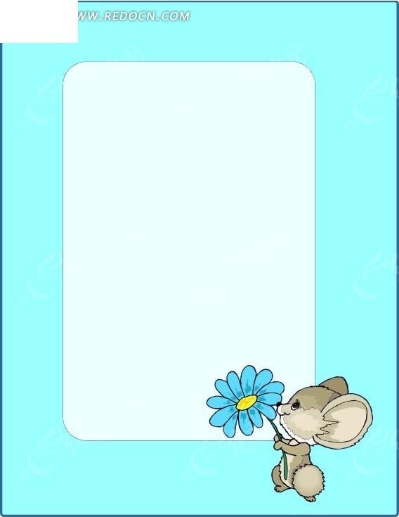 鼠矢量图_陆地动物