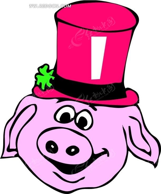 猪福来了创意画