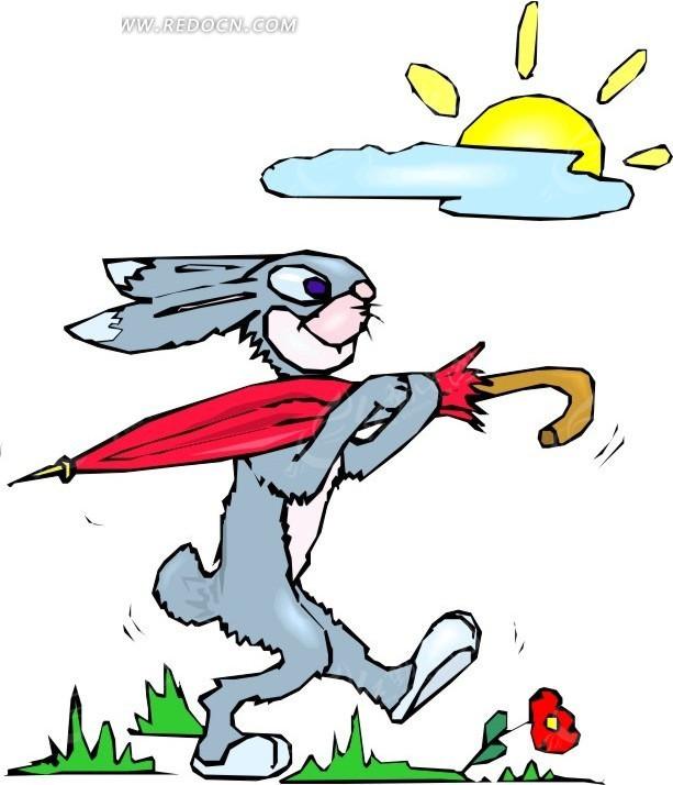 打鞋图案图纸兔子