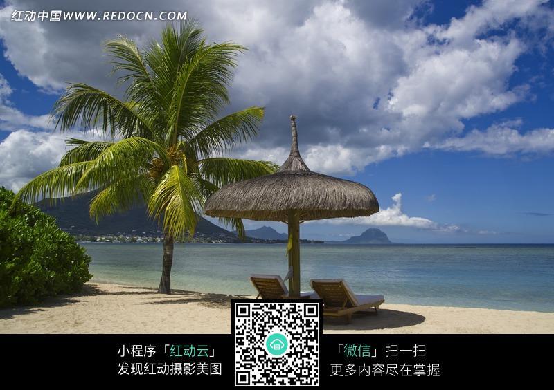 清爽海洋风景图片