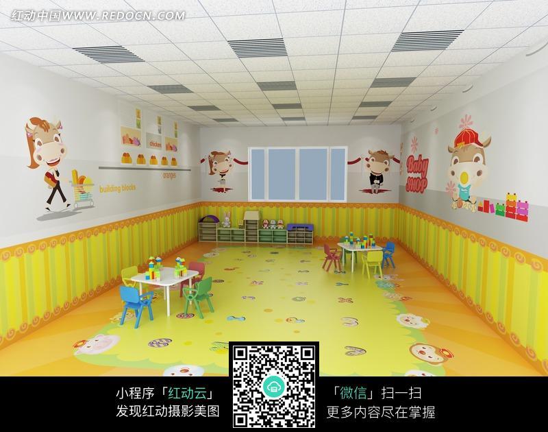 幼儿园动物超市图片_室内设计图片