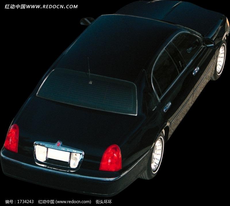 一部黑色鸟瞰汽车图片高清图片