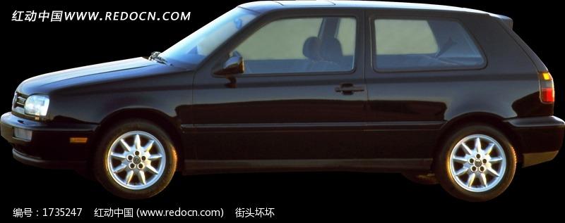 汽车侧面特写图片