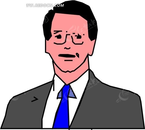 职业男卡通头像_卡通微信头像男图片
