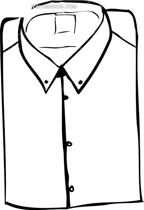 衬衫设计图片手绘图片展示