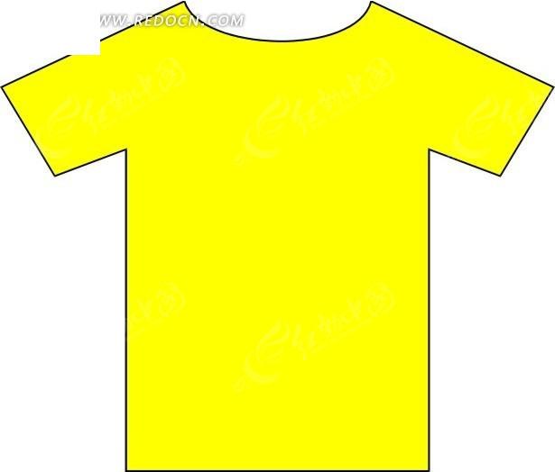 一件黄色t恤图片