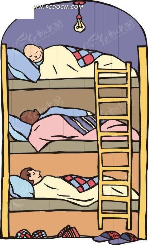 卡通欧式木床图片大全