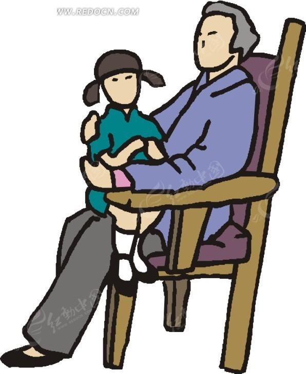 免费素材 矢量素材 矢量人物 日常生活 老人和小孩  请您分享: 红动网