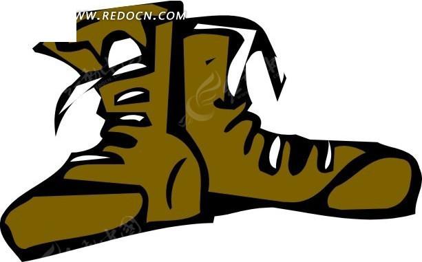 手绘鞋子插画其他素材免费下载 编号1740187 红动网