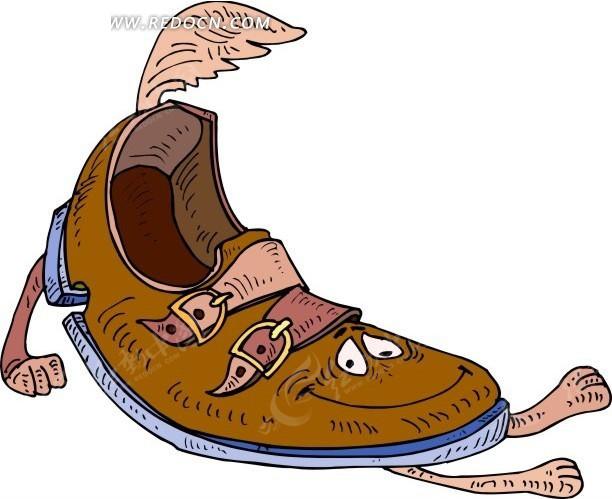 鞋子卡通人物