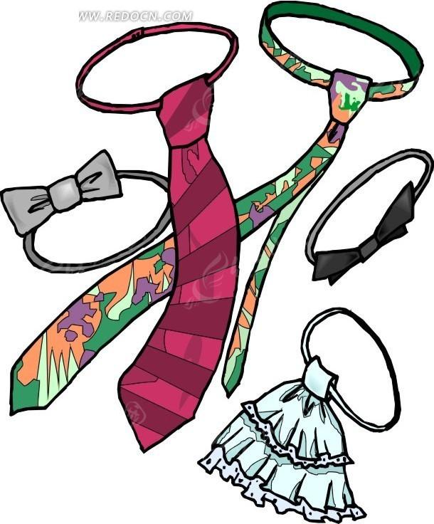 领带和领结图片