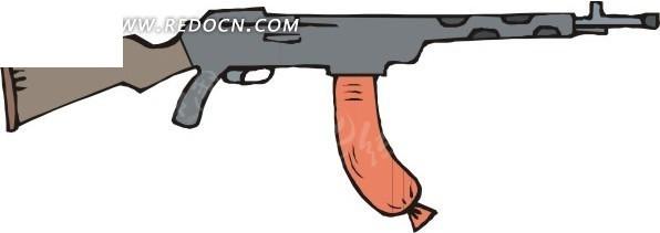 玩具枪插画图片