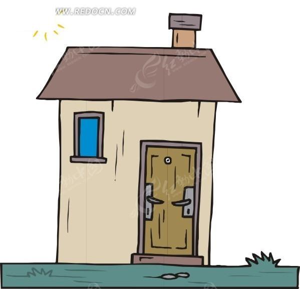手绘小房子