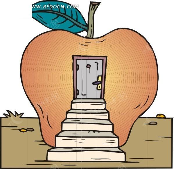 苹果房子图片