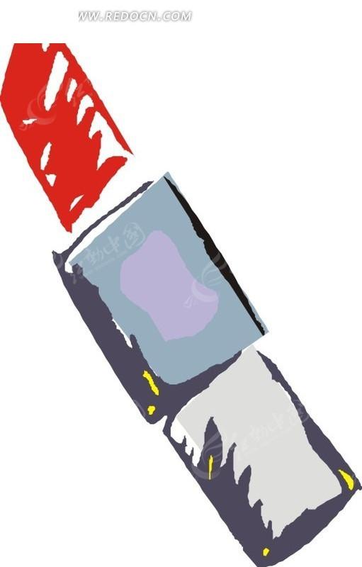 手绘口红图片