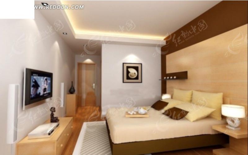 宾馆客房玄关方向装修设计效果图