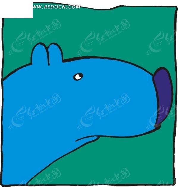 熊 卡通动物 卡通画 插画 手绘 矢量素材 动物图片 卡通形象 动物