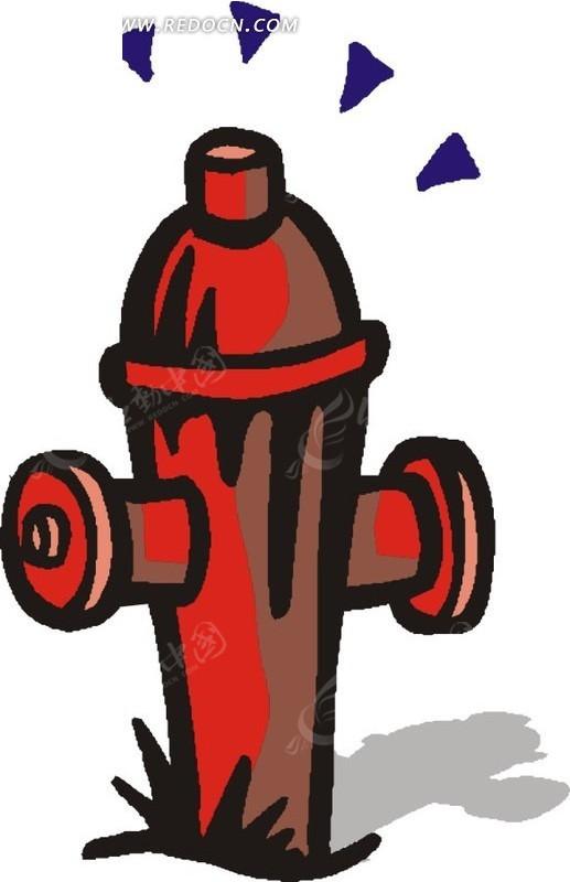 手绘消防栓