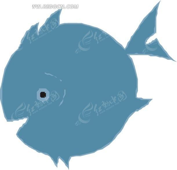 免费素材 矢量素材 生物世界 水中动物 蓝色球形鱼  请您分享: 红动网